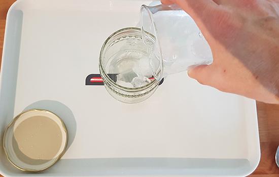 Experiment Eis ohne Gefrierfach Ökopark
