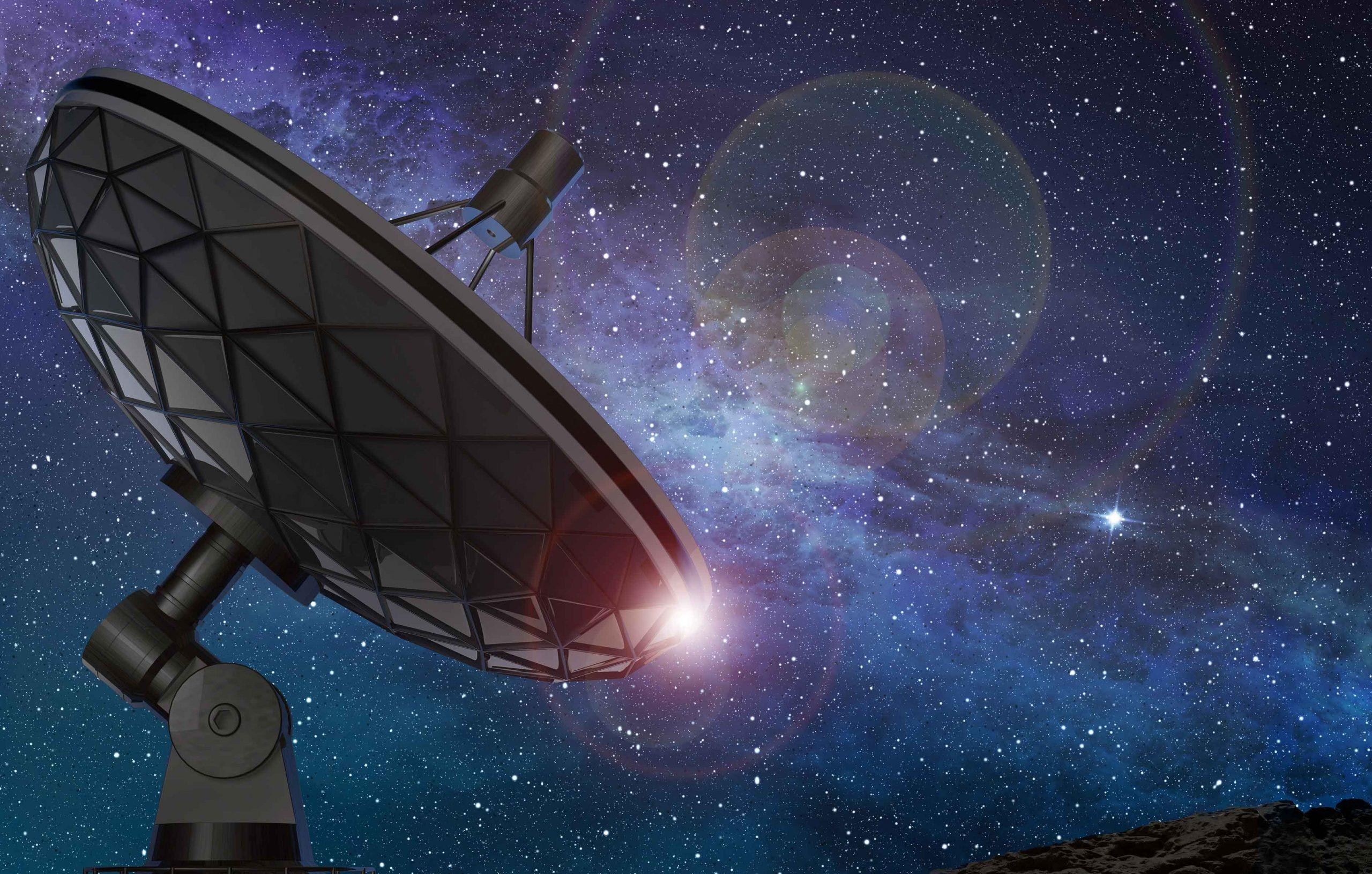 Radioteleskop-Uebersicht