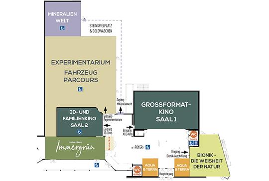 Ökopark Erlebnispark Plan
